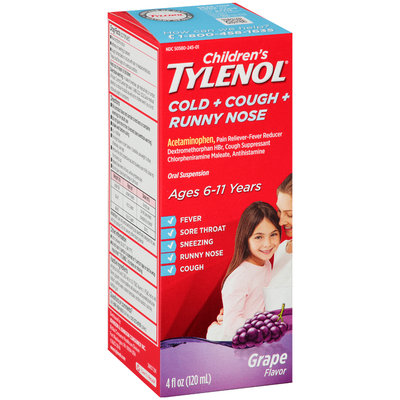 Children's Tylenol Cold Flu