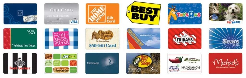 National Retailer Gift Cards - Price Chopper - Market 32