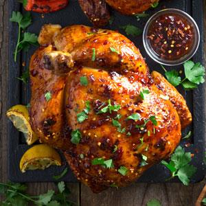 thai chili rotisserie chicken